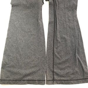 lululemon athletica Pants - Ω Lululemon Flare Yoga Stretch Pants Grey size 12